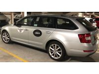 Private hire Skoda Octavia