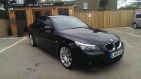 **PRICE DROP**2009 BMW 520 2.0TD M SPORT BUSINESS EDITION BLACK