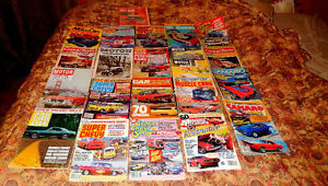 VINTAGE MUSCLE CAR BOOKS GREAT FOR THE COLLECTOR