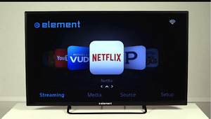 Smart T.V for parts or to fix..