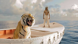 Life Raft from Life Of Pi