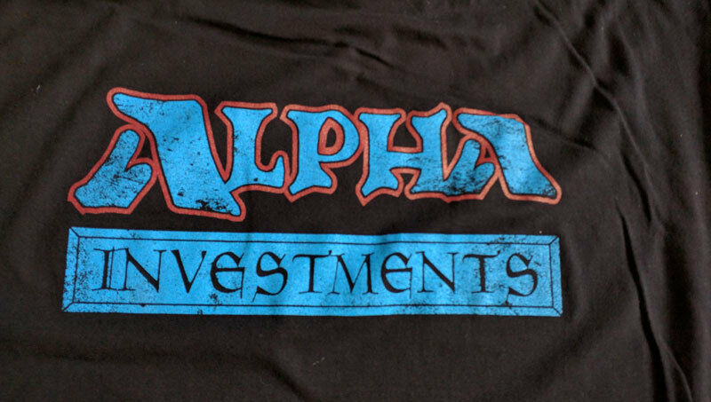 YouTube - Alpha Investments Branded T-Shirts Logo - Rudy The Magic Guy YouTube 2
