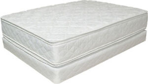queen pillowtop mattress and boxspring delivery included