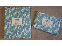 Brand new Seasalt Single Duvet Cover & Pillowcase Joyful Daffodils