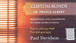 Custom Blinds of Prince Albert