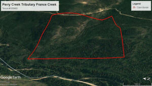 Gold Claim East Kootenay - Perry Creek Trib.
