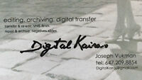 DIGITALKAIROS video photography analog2digital transfer services