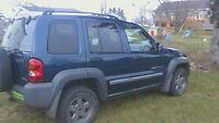 2002 Jeep Liberty SUV, Crossover