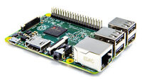 """Raspberry pi with 4"""" Gpio Display and case"""