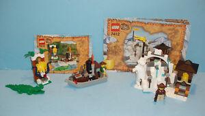 LEGO ORIENT EXPÉDITION, LOT DE 2 SETS, 7410 et 7412