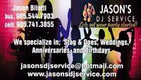 Jason's Dj Service  Wedding Spring Special
