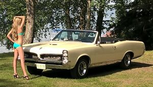 1967 GTO 4-SPEED CONVERTIBLE