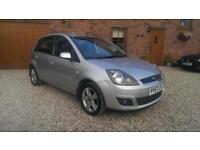 2008 FORD FIESTA 1.4 TDCi ZETEC CLIMATE SILVER
