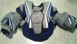 Like New High End Vaughn Goalie Chest Protector Senior Small