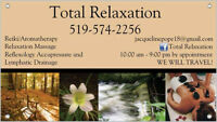 Total Relaxation  Aromatherapy Massage