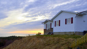 Breathtaking panoramic ocean views from this Port Hood home