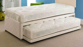 Single Divan with Trundle
