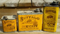 BUYING OLD TIN CANS.