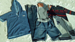Brand names boy's clothes in perfect condition, 4T, $10/all