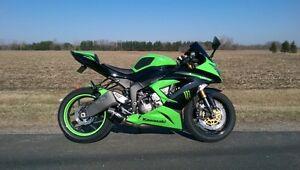 2013 Kawasaki Ninja zx6r 636