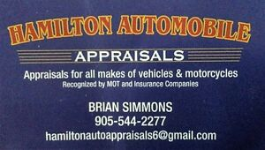 Appraisals for all makes. Bikes, Trucks, RVs and Boats.