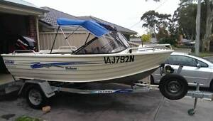 Sea-Jay Deluxe 4.1m Runabout - 40HP Mercury 4-Stroke Findon Charles Sturt Area Preview