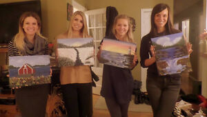 Wine and Painting Fun Parties! St. John's Newfoundland image 8