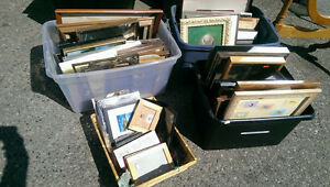 Large variety of picture frames!