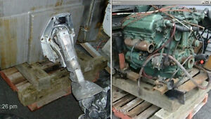 Pied transmision sterndrive Volvo 280/290 complet avec Gimball