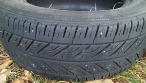 2 Mud and snow tires 65% tread