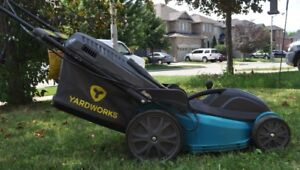 YARDWORKS Compact Lawn Mower - Electric