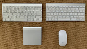 Apple Mac Bluetooth Accessories - keyboards, mouse, trackpad