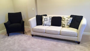 Moving Sale! Perfect Condition Couch and Chair