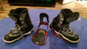 Ride XL9 Step-In Boots and Bindings