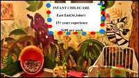Infant Child care , East end 15+ years experience