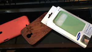 3 Samsung S4 Cases ($30 OBO)