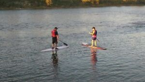 Stand up paddle board ( SUP ) lessons