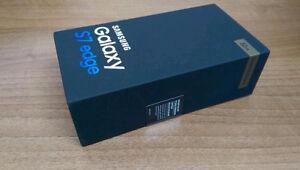 Samsung galaxy S7 Edge 32GB Factory Unlock 3week old & box case