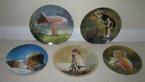 5 Assorted Children Collector Plates