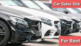 Land / Yard / To-Let / Car Sales Site.