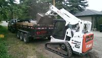 Bobcat/ Mini Bobcat Skidsteer/ Excavation/ Demolition/ Hauling