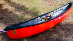 Solo river canoe.