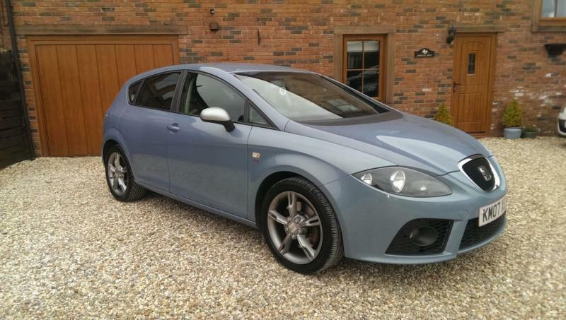 2007 seat leon 2 0tdi fr blue in carlisle cumbria gumtree. Black Bedroom Furniture Sets. Home Design Ideas