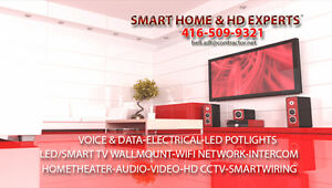 Home Theater/AUDIO VIDEO/ WIFI Internet Experts