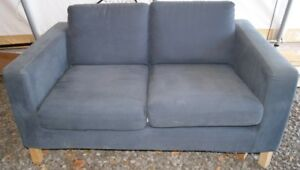 Ikea love seat and chair.