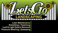 Landscaping and yard maintenance