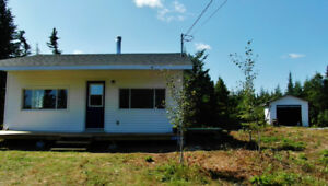 103 acres in Moser River Nova Scotia with one bedroom.