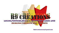 R9CREATIONS looking for any work needed ..work from home