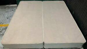 Excellent Sealy brand King size split bed base for sale #4