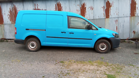 VW Caddy Maxi van NO VAT 12 months MOT.